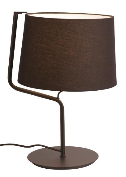 CHICAGO lampa stołowa czarna T0029 Max Light