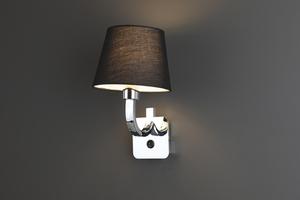 DENVER kinkiet BK W0190 Max Light small 0