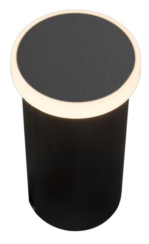 Lampa Ogrodowa Azzardo ALF ROUND 3000K BK