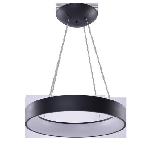 Lampa Wisząca Azzardo SOLVENT R 80 BK + REMOTE CONTROL