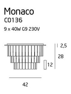 Monaco plafon C0136 Max Light small 1