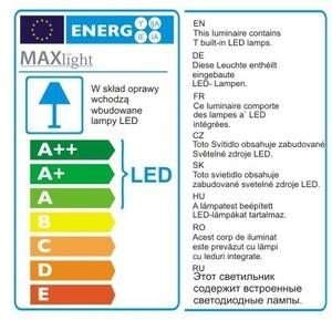 ORGANIC CHROM P0172 lampa wisząca Max Light small 1