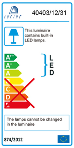 Lucide OLFY-LED 40403/12/31 small 2