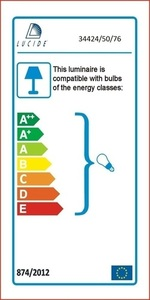 Lucide BOUNDE 34424/50/76 small 2