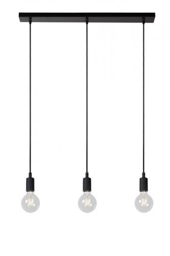 Industrialna lampa wiszaca lucide FIX czarna