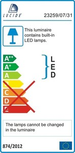 Lucide LINO LED 23418/16/31 small 3