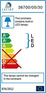 Lucide DUAL LED 36710/30/11 small 3