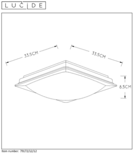 Lucide GENTLY-LED 79172/12/12 small 1