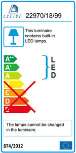 Lucide INKY-LED 22970/18/99 small 2