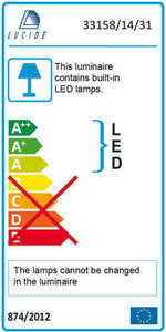 Lucide MITRAX-LED 33158/14/31 small 2