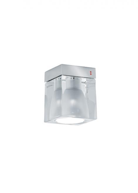 Reflektorek Fabbian Cubetto D28 7W Chrome - Przeźroczysty - D28 E01 00