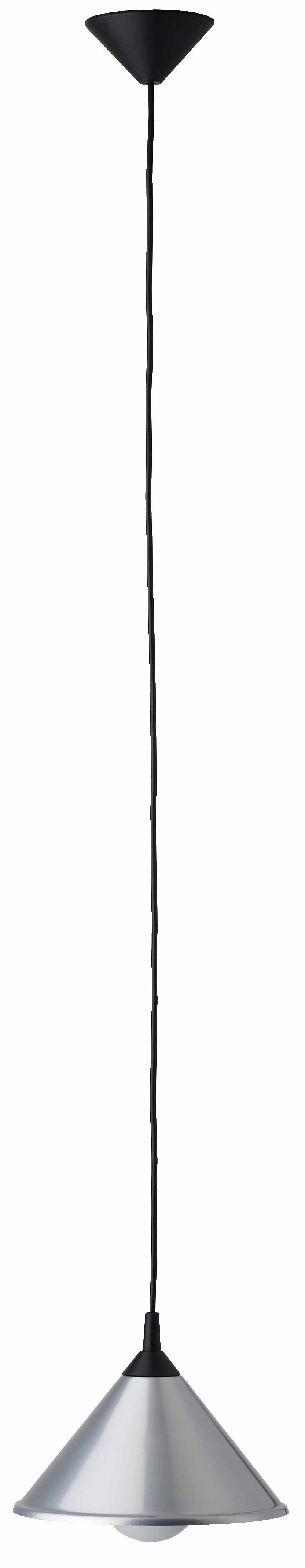 BISTRO Satynowa, chromowana lampa wisząca