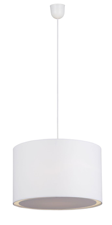 CLARIE Biała lampa wisząca