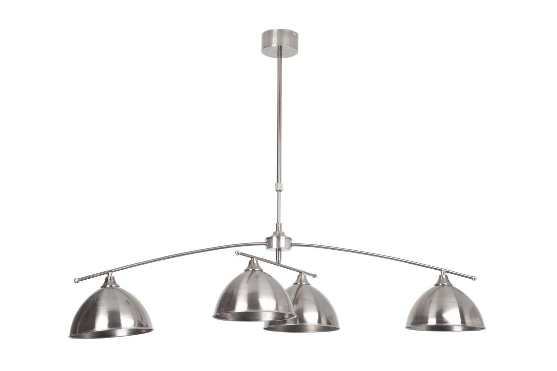 ENZIO Obrotowa, srebrna lampa wisząca