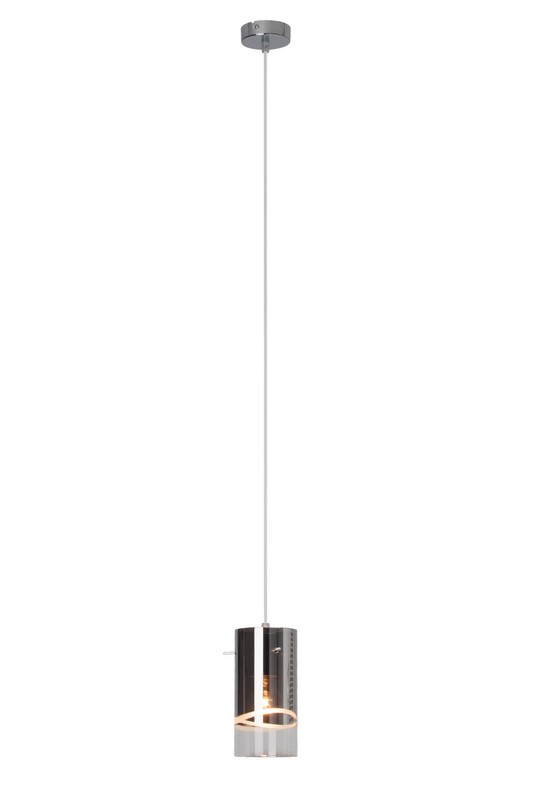 CARLOW Chromowana lampa wisząca (sopel)