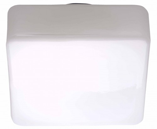 ISAR Biały plafon kwadrat (180 mm)