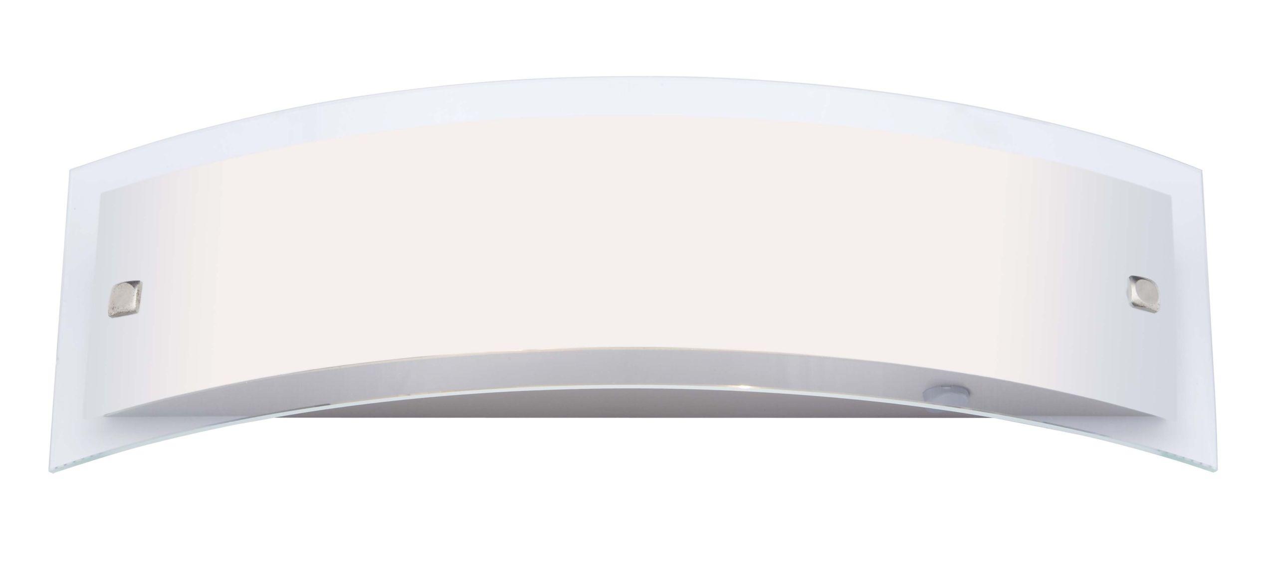 ELYSEE Kinkiet satynowy chrom (400 mm)
