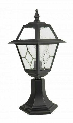 Mała lampa ogrodowa z witrażem (47 cm) - K 4011/1/N
