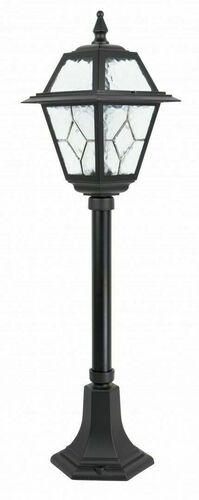 Mała latarnia ogrodowa z witrażem (80 cm) - K 5002/3 N