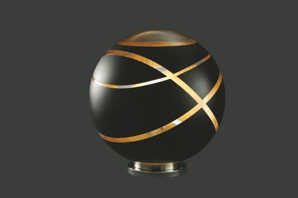 Lampa stołowa GLOBE BLACK 2 czarna matowa E27
