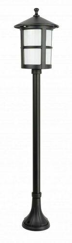 Latarenka ogrodowa na średnim słupku z witrażem (101 cm) - Cordoba II K 5002/2/TD