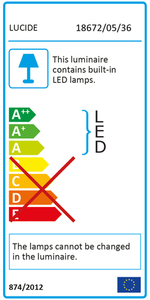 Lucide AIDEN LED 18672/05/36 small 2