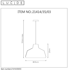 Lucide NEIL 21414/35/03 small 1