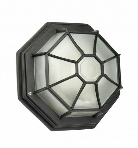 Lampa ogrodowa Retro Classic K 3012/P SZ czarny