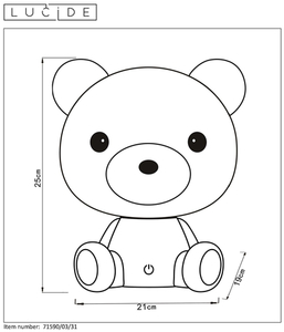 Lucide DODO Bear 71590/03/31 small 1