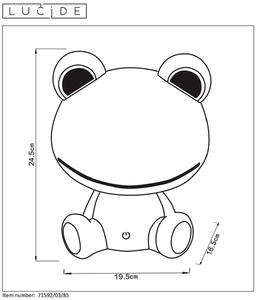 Lucide DODO Frog 71592/03/85 small 1