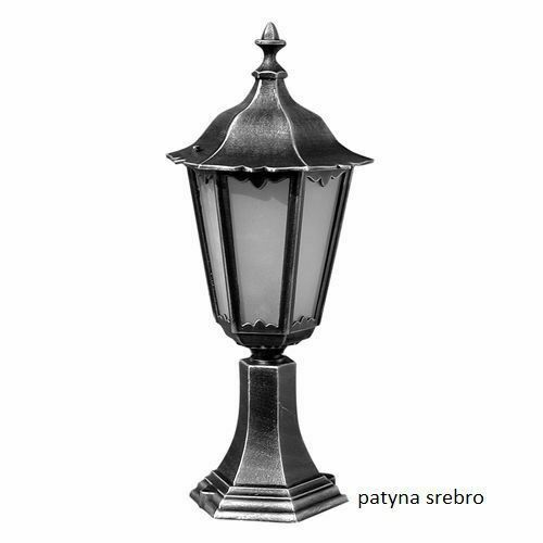 Lampa stojąca Retro Classic K 4011/1 Vintage w kolorze czarnym