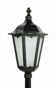 Lampa ogrodowa Retro Classic K 5002/2 (114 cm) Vintage czarna 1
