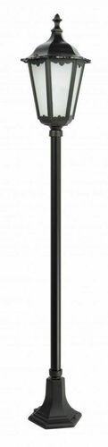 Lampa stojąca Retro Classic K 5002/1 (164 cm) Vintage czarna