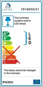 Lucide TISIS LED 79194/24/31 small 3