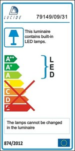 Lucide DEXTY LED 79195/18/61 small 3