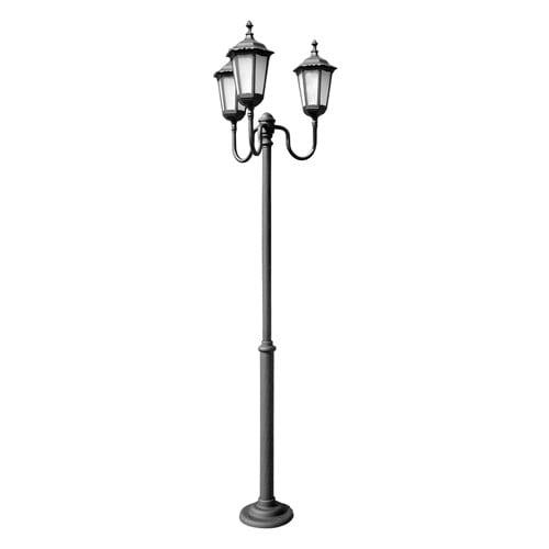Lampa ogrodowa Retro Classic OGM3