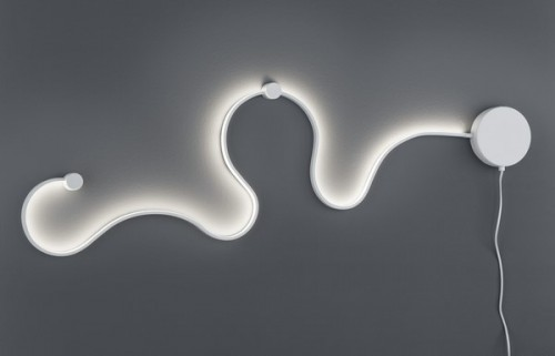 Lampa ścienna SNAKE
