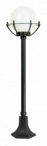 Lampa - kula z koszykiem stojąca ogrodowa (102 cm) - 200 K 5002/2/KPO