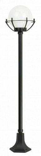 Lampa - kula z koszykiem stojąca ogrodowa (152 cm) - 200 K 5002/1/KPO