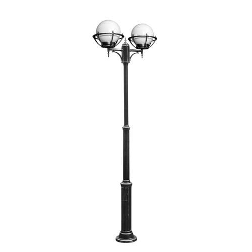 Regulowana latarnia z kulami 2-punktowymi w koszykach (180 - 260 cm) - 200 OGMW 2 KPO