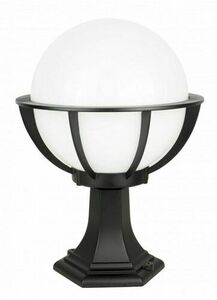 Lampa - kula z koszykiem stojąca ogrodowa (43cm ) - K 4011/1/KPO 250 small 0