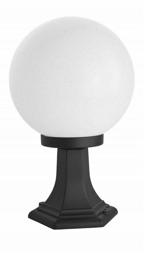 Latarenka ogrodowa stojąca z 1-punktową kulą (41cm) - K 4011/1/K 250