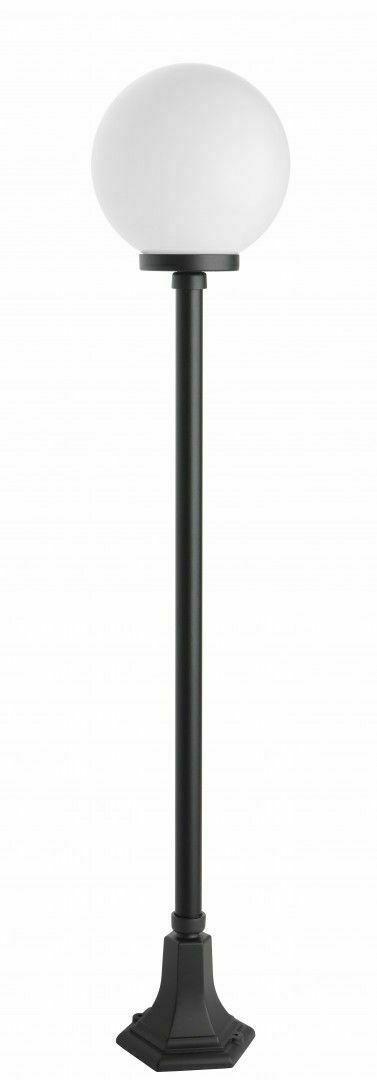 Latarnia ogrodowa z 1-punktową kulą (153cm) - K 5002/1/KP 250
