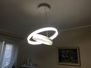 Lampa wiszaca milagro ring led 065 s