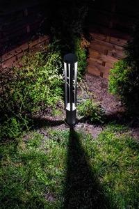 Czarny Metalowy Słupek Ogrodowy LED Windmill Post 80cm 10W 4000K small 4