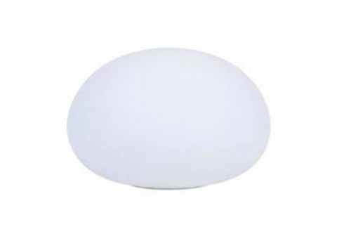 Lampa Solarna - Płaska Piłka LED RGBW kolorowy