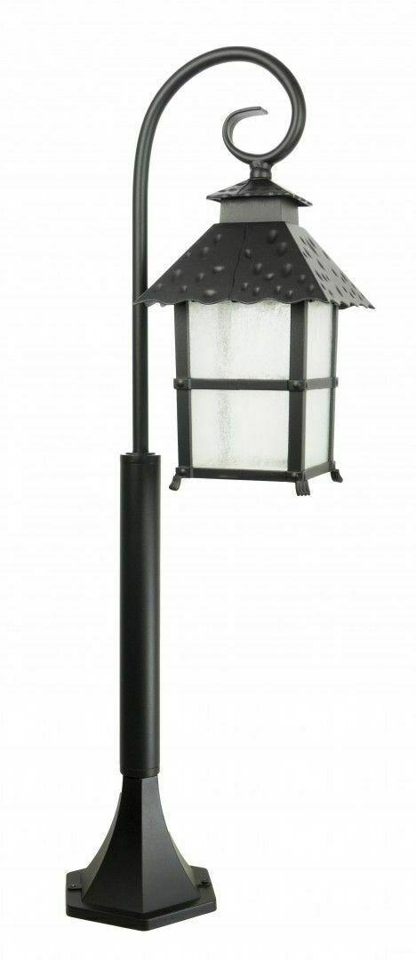 Lampa ogrodowa stojąca z elegancką witryną (86 cm) CADIZ K 50023Z