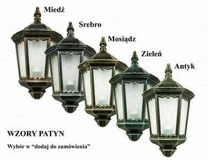 Lampa zewnętrzna wisząca RETRO KWADRATOWE K 1018/1/BD KW small 1