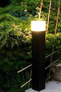 Czarna Lampa Ogrodowa Stojąca CUBE 58 cm small 2
