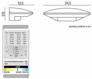 Kinkiet zewnętrzny LEDowy UFO 91303-LED small 1